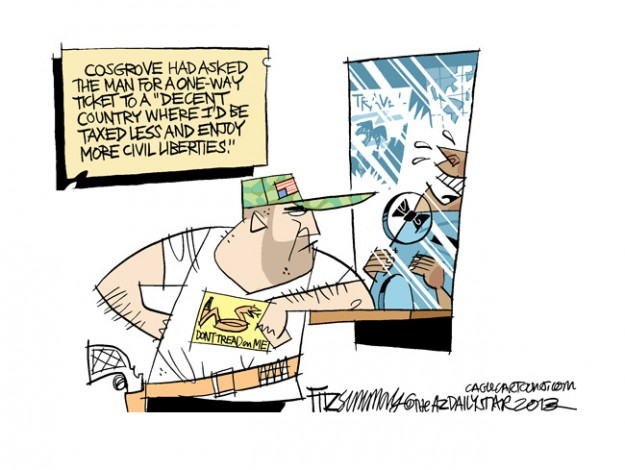 DAVID FITZSIMMONS Copyright 2013 Cagle Cartoons